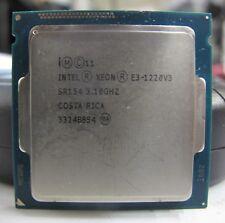 New listing Intel Xeon E3-1220v3 Quad-Core 3.10Ghz Sr154 8Mb Lga 1150 Cpu Processor