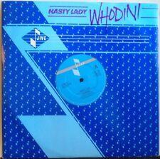 "WHODINI ~ Nasty Lady ~ 12"" Single PS"