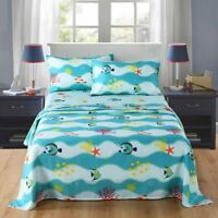 Bed Sheets for Kids Twin Sheets for Kids Girls Boys Bedding Bunk Beds Set 277