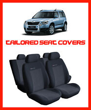 Tailored seat covers for Skoda Yeti   full set  - 1