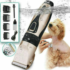 More details for professional clippers cordless pet dog clipper hair shaver grooming trimmer kit