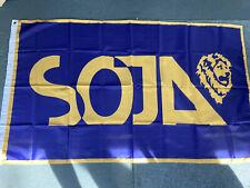 New listing Soja Flag Band Raggae Music 3x5 Feet Poster Vinyl Shirt Tour