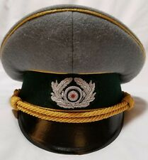 WW2 German Field Marshal General officer visor hat cap schirmmutze (Desert Fox)