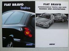 Prospekt Fiat Bravo Trofeo, 11.1999, 4 Seiten + Technik/Ausstattung