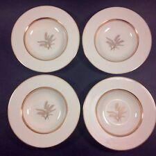 Four Rare Lenox WESTFIELD Gold Wheat Rimmed Soup Bowls Plates R-440 Excellent!