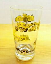 """Vintage Twehous Excavating Co Inc Glass 5.5"""" Tall"""