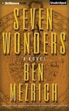 SEVEN WONDERS unabridged audio book on CD by BEN MEZRICH - Brand New! Fast Ship!
