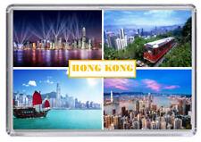 Hong Kong Fridge Magnet