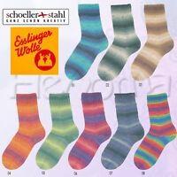 """100g Schöller+Stahl 4-fach """"Esslinger Wolle I"""" 4-Fach Sockenwolle Wolle Socken"""