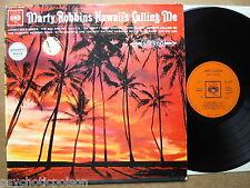 MARTY ROBBINS – Hawaii's Calling Me  LP UK  CBS SBPG 62169