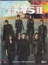 Iris II 2 DVD Jang Hyuk Korean TV Drama 5 Discs Box set Eng Sub R0 NEW Free Ship