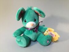 PRECIOUS MOMENTS MOUSE, Green stuffed Mouse, Rosie, Tender Tails plush  NWT
