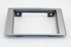 Mascherina per autoradio 2 DIN, per modello Iveco Daily silver