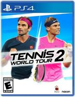 Tennis World Tour 2 for PlayStation 4 [New Video Game] PS 4