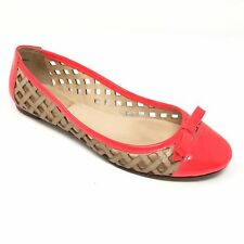 90ae9f7ede46 Women s Kate Spade New York Trudi Ballet Flats Shoe Size 7M Tan Pink  Leather Q14