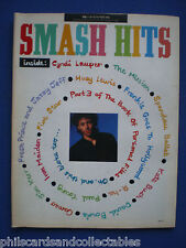 Smash Hits - 5th Nov. 1986 - Bob Geldof, Cyndi Lauper, Kate Bush, Jim Kerr