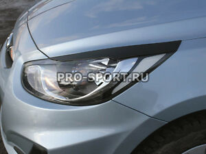 Hyundai Solaris Accent Verna  2010-2014 eye brow, eyelids, cilia head lights,