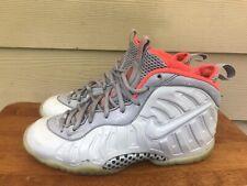Nike Little Posite Pro Foamposite (GS) Pure Platinum 644792-005 Size 6Y