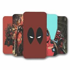 For Samsung Galaxy S10 Flip Case Cover Marvel Deadpool Collection 1