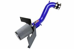 HPS Shortram Air Intake Kit for Toyota Supra 2JZ-GE 97-98 Powder Coated Blue
