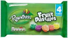 Rowntrees Fruit Pastilles (4 x 52.5g Tubes) - British/UK Candy/Sweets