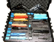 Wheeled Armourcase 1610 precut 18 Pistol 29 mag watertight foam gun carry case