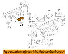MITSUBISHI OEM 06-12 Eclipse Dash AC A/C-Air Vent Center Duct MN134695XA