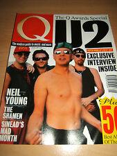 Q Magazine 76 Jan 93 features U2, Neil Young