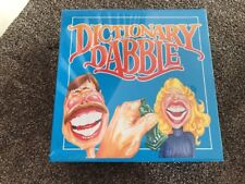 Vintage 1993 DICTIONARY DABBLE The Original Word Bluffing Board Game NEW SEALED