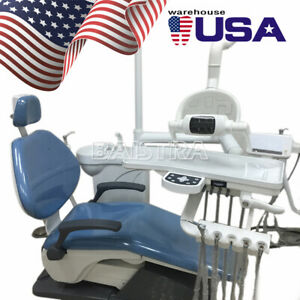 Dental Chair Unit Computer Control Hard Leather Chair & Stool TJ2688-A1 FDA