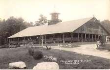 Agassiz Massachusetts Elizabeth Dining Hall Real Photo Antique Postcard K95789