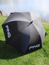 """Ping Golf - 62"""" Standard Black/Grey Umbrella + FREE Ping Tour Tees"""