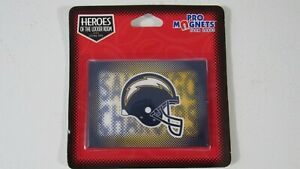 Vintage SAN DIEGO CHARGERS NFL Licensed football fridge locker magnet 3.5 x 2.5