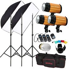 Godox 300SDI 900W Studio Flash Lighting + Trigger Kit Photography Strobe Light