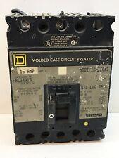Square D Fal34015 15-Amp Circuit Breaker 15A 3P 480V Type Fal