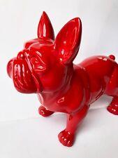 französische bulldogge, 35 cm x 45 cm groß Designer Demo, Figur, DEKO