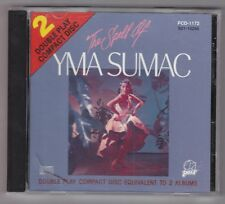 Yma Sumac - The Spell of Yma Sumac CD - Pair PCD-1172 1987