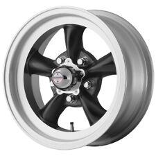 4 American Racing Vn105 Torq Thrust D 15x7 5x475 6mm Black Wheels Rims 15 Inch