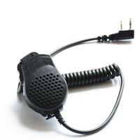 Original BaoFeng Handheld 2 PIN PTT Speaker Mic for Baofeng 2-Way Radio UV-82/8D