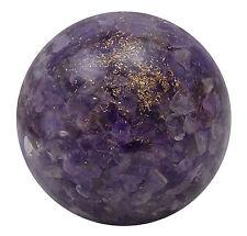 Orgone améthyste sphère boule pierre précieuse Table Decor de du Reiki