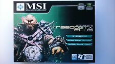 MSI n9800GTX Plus Graphics Card