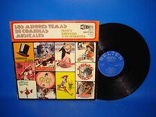 Vinilo Henry Salomon Y Orquesta. Los Mejores Temas de Comedias Musicales