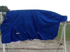 "84"" Blue print 600 D Tough 1 med heavyweight waterproof horse turnout blanket"