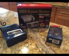 NES Classic Mini, unopened, never used, extra controller and cable extension