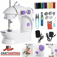 Stitches Electric Desktop Sewing Machine Household Tailor 2 Speed Foot Pedal Us