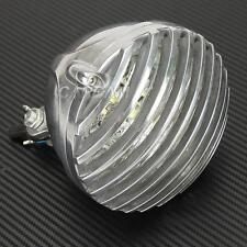 Scalloped Finned Grille Headlight For Harley XL Sportster V Rod Hugger 883 New