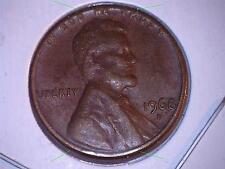 1968 D Lincoln Cent -Error Cud Rev.