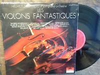 The Violins Fantastic Helmut Zacharias And Son Orchestre Vinyl 33 RPM LP