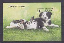 JERSEY MNH UMM STAMP SHEET 2003 SG MS1117 Pets