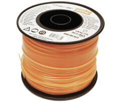 Stihl 2.4mm Square Orange Nylon Line Cord x 253m Strimmer Brushcutter Trimmer